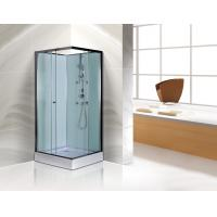 Buy cheap Free Standing Square Corner Shower Stall Kits SGS ISO9001 Certification product