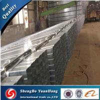 Buy cheap API ERW Square Hot Dipped Galvanized steel pipe/tube from wholesalers
