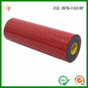 Buy cheap 3M GPH-160GF VHB foam Tape _ 3M 160GF High temperature resistant VHB foam Tape product