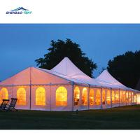 Buy cheap 300 People Marquee Party Tent With Hard Pressed Extruded Aluminum 6061 / T6 Frame product