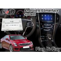 Buy cheap Android 6.0 Multimedia Video Interface for Cadillac ATS / SRX 2014-208 CUE System , Car GPS Navigation Plug and Play product