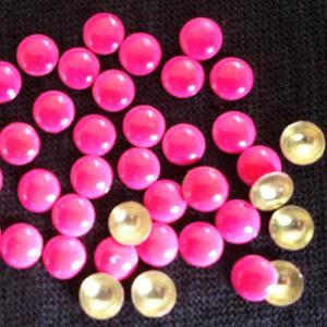 China 6mm Neon Rose HotFix Nailheads for Apparel; Domed Hotfix Nailheads Neon Rose on sale