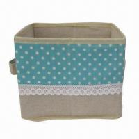 Buy cheap Storage Square Box, Foldable with Ears, New Item, Used for Sundries Storage product