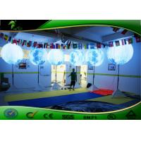 Buy cheap Attractive Inflatable Lighting Decoration Stand Lighted Balloon For Advertising product
