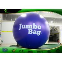 Buy cheap Inflatable PVC Advertising Purple Balloon / Inflatable Custom Logo Balloon With from wholesalers
