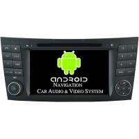 China CLS W219 Mercedes Benz Satellite Radio Auto DVD Player 1024 X 600 Pixel 16GB Flash ROM on sale