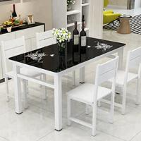 Buy cheap High Temperature Resistant Glass Dining Table Set For Banquet / Dinner Party product