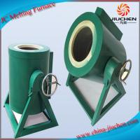 JC 30KG Aluminum Electric Small Induction Melting Furnace Supplier from China
