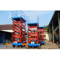 Buy cheap Movable Four Wheels Hydraulic Lift Platform , Aerial Platform Lift Diesel Engine Powered product