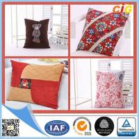 Quality Custom Cotton Digital Printed Decorative Cushion Covers / Embroidered Cushion for sale
