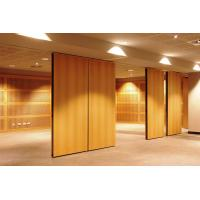 Buy cheap Hanging Floor To Ceiling Wooden Acoustic Room Dividers 1220mm width product
