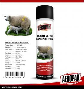 Buy cheap Aeropak 500ML Sheep and Tail  Marking Paint product