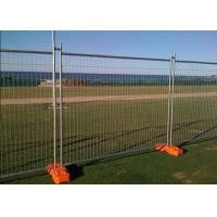 Buy cheap Temporary Security Fence Panels , Building Site Fencing 2.4m Length product