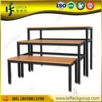 Buy cheap table top advertising stand /exhibition display table whole sale by LEFFECK product