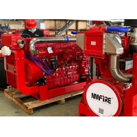 Buy cheap Diesel Fire Pump Engine Water Cooling With 1900-3000 rpm Speed at 305 HP UL / FM product