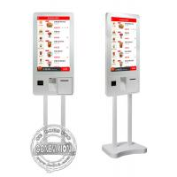 Buy cheap 32 Inch PCPA Film Touch Screen Kiosk Windows10 Ordering Machine Kiosk With Thermal Printer from wholesalers