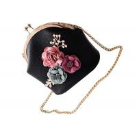 Buy cheap Ladies 3D Flower Pink Shoulder Bags For Women PU Leather Amazon Handbags 563W product