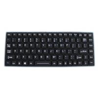 Buy cheap Rugged Laptop Military 30mA Silicone Rubber Keyboard product