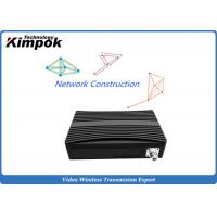 Buy cheap 340MHz Wifi and 3G / 4G COFDM IP Mesh Full Duplex TDD Wireless Transceiver product
