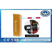 Buy cheap Heavy Duty Servo Motor Car Park Boom Barriers Gate With 10 Million Operation Times from wholesalers