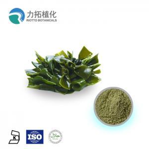 Laminaria Japonica Plant Extract Powder Fucoxanthin 10% - 50% Fucoidan10% - 95%