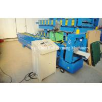 Buy cheap Colored Steel Cr12 Cold Roll Forming Equipment With PLC Control product