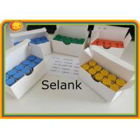 China Selank Injectable Body Hormone Peptide Selank 5mg/vial 129954-34-3 Purity: 99% on sale