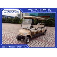 Buy cheap CE Approved Eight Seater Electric Club Car White Color ADC Separately Motor product