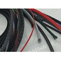 Buy cheap Abrasive Resistance Braided Cable Sheath Customer Logo With Smooth Surface product