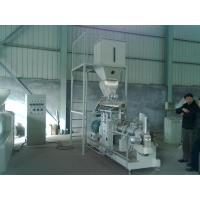 Buy cheap 600kg/h double screw extruder Vietnam fish feed machine price product