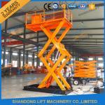 Buy cheap 3T 3.6M Cargo Loading Fied Stationary Hydraulic Scissor Lift Warehouse Scissor Lift Table product