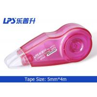 Student Mini Correction Tape Rose Colored Correction Tape Eco Friendly 4m