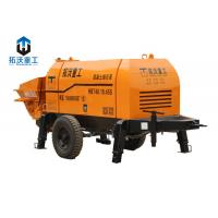 Buy cheap Remote Control Concrete Mixer Pump , Stationary Concrete Pump 45KW Motor Power product