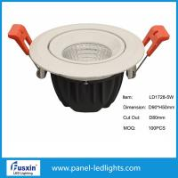 Buy cheap D120mm X H65mm cob Dimmable LED Downlights high brightness 5w 10w 15w from wholesalers