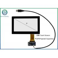 Buy cheap 7 Inch Capacitive Touch Panel Cover Glass To ITO Glass with USB Interface product