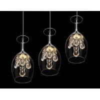 Buy cheap 2015 New Crystal Wine glasses Chandelier Ceiling Light Pendant Lamp LED Lighting product