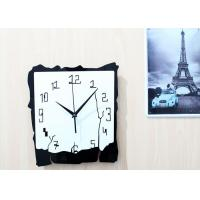 China Shabby Halloween Decor Wall Clocks Living Room Silent Movement Clock on sale