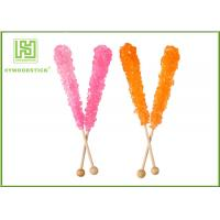 Buy cheap Customized Logo Wooden Lollipop Sticks Party Items Non - Flavor FSC Certificated product