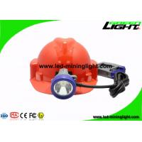 Buy cheap Shock Resistant 10000 Lux Safety Coal Mining Cap Lights with Cable 1.4m/1.6m product