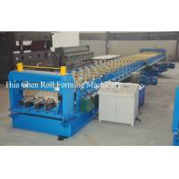 Buy cheap Color Steel Plate Floor Deck Roof Panel Roll Forming Machine 1500mm PLC Control product