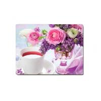 Buy cheap Decorative Flower PET Printing 3D Lenticular Plastic Table Mats Offset Printing product