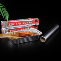 Buy cheap 8011 Grade 99.7% 10cm Catering Aluminium Foil Roll For Household product