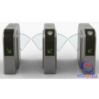 Buy cheap Half Height Prestige Security Flap Gate Bidirectional Intelligent Flap Turnstile With Rfid Door Entry System product