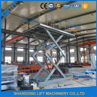 Buy cheap 5M Home garage Car Lifting Equipment , Scissor Car Parking Lifts with CE TUV product