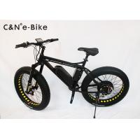China 26x4.0 Inch Electric Fat Tire Cruiser Bicycles / Mountain Bike With Big Huge Tires on sale