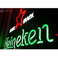 Buy cheap Christmas Sign Glass Outdoor Neon Lights 12V For Advertising Signage product