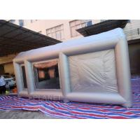 Buy cheap 6m Long  Inflatable Spray Paint Tent With PVC Tarpaulin Or Oxford Cloth Material product
