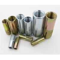Buy cheap Carbon Steel Drop In Concrete Anchors 6mm - 20mm 1/4 - 3/4 For Concrete from wholesalers