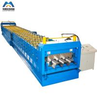 Buy cheap 0.8 - 2mm Galvanized Steel Sheet Floor Deck Roll Forming Machine 380V 50Hz 3 Phase product