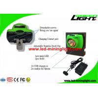 Buy cheap 6.4Ah High Performance Led Cordless Mining Headlamp for Underground Mine Tunnelling from wholesalers